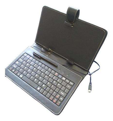 Estuche y teclado para tablet pc 7