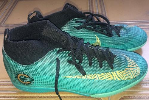 Futsal zapatos mercurial superfly cr7 de niño