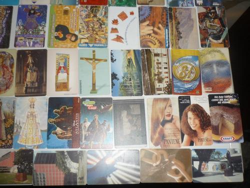 Tarjetas telefónicas de colección lote de mas de
