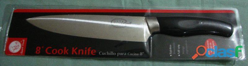 """CUCHILLO PARA COCINA 8"""" 1"""