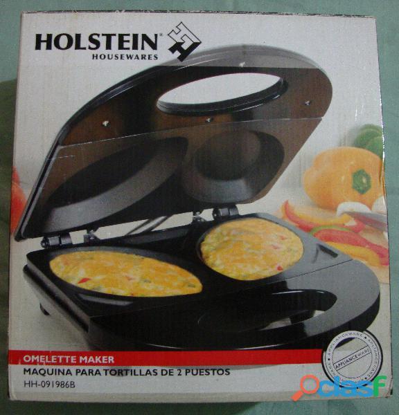 Maquina para tortillas de 2 puestos holtein