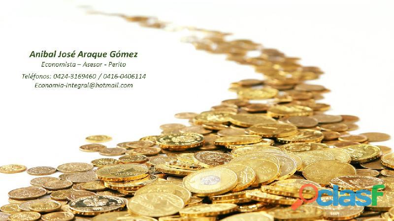 Economista y perito anibal j. araque g.