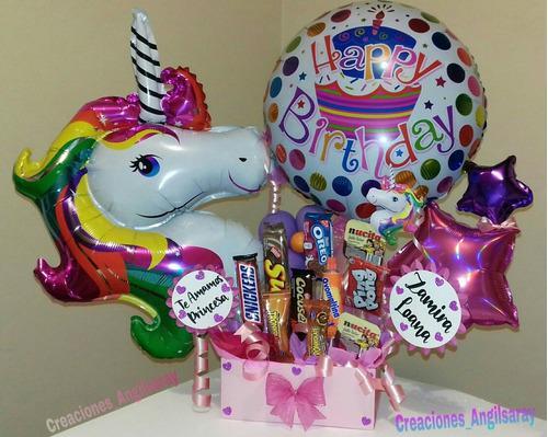 Arreglo globos cumpleaños nacimiento feliz día aniversario