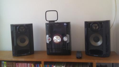 Equipo de sonido panasonic modelo sa-akx10.