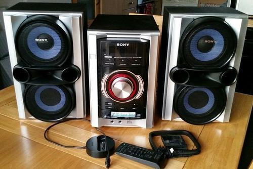 Equipo sonido sony modelo mhc-ec78p casero