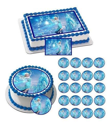 Impresiones en papel comestible para tortas y ponquesitos.
