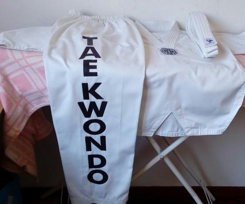 Kimono taekwondo para niño (favor leer descripción)