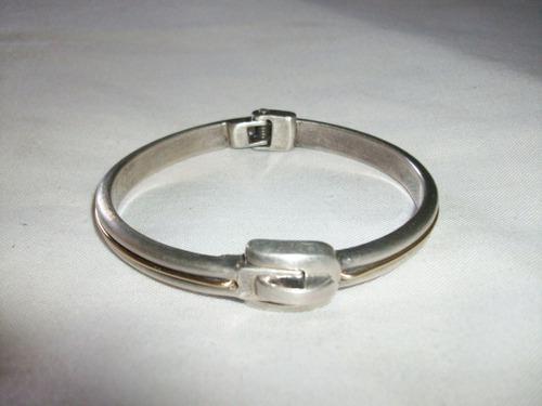 Pulsera gruesa plata ley 1000 oferta hasta hoy 47 gramos