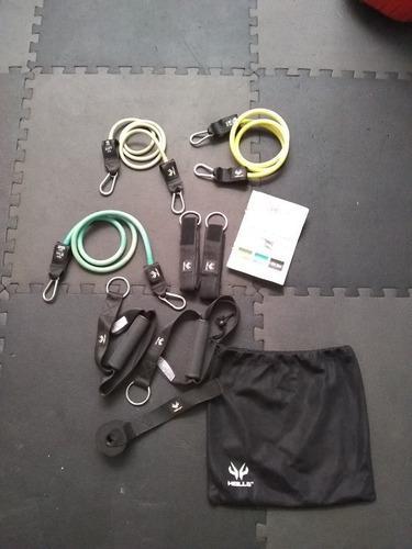 Set de entrenamiento (alfombras y set ligas)