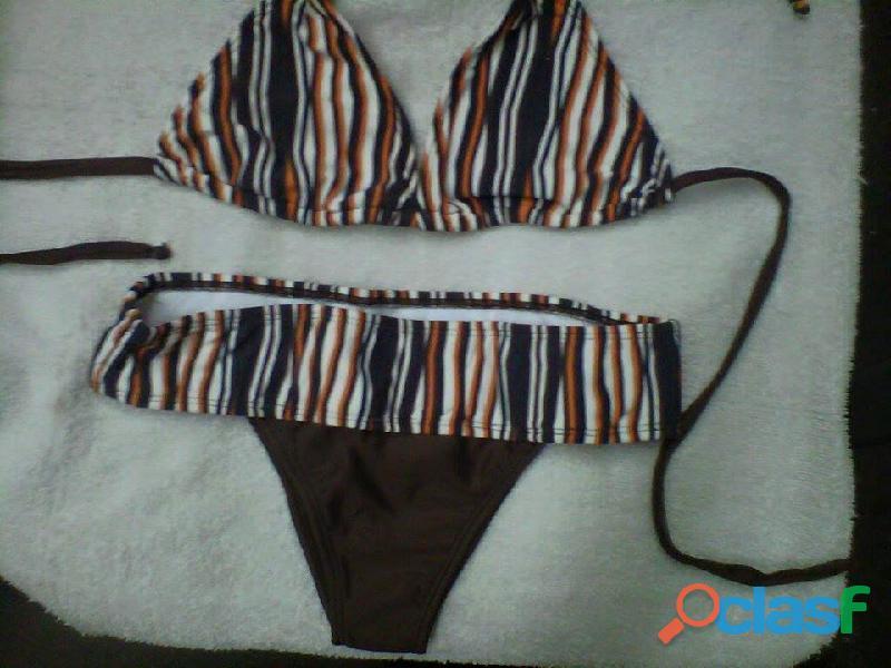 trajes de baño para dama tipo panty y semihilo 1