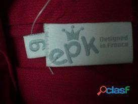 Vestido para niña talla 6 a estrenar marca EPK, excelente calidad 3