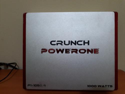 Amplificador planta crunch powerone 1000 watts modelo p1050