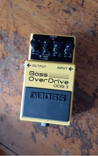 Boss odb3 bass overdrive..