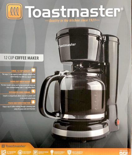 Cafetera Eléctrica Toasmaster 12tazas Rb 18