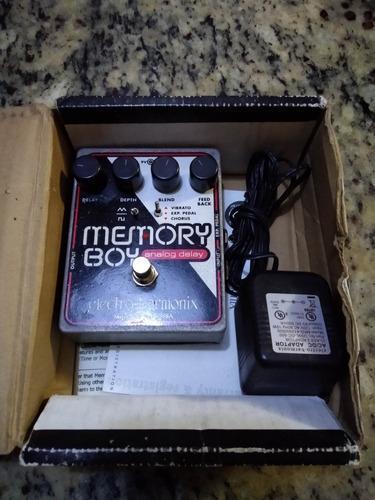 Efecto delay electro harmonix pedal analogo
