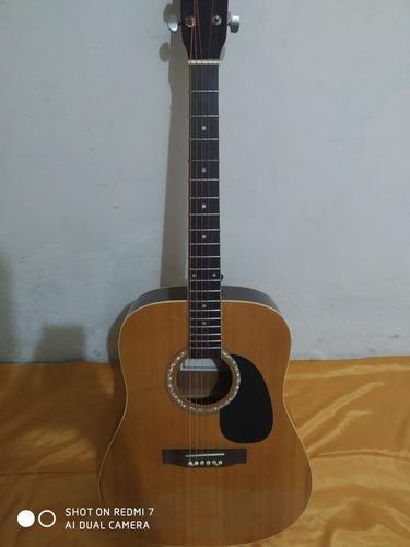 Guitarra electroacústica fretmaster modelo folk