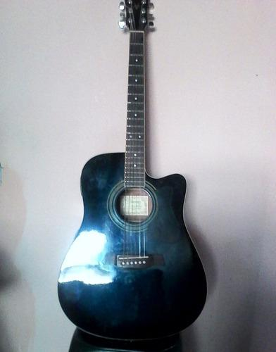 Guitarra electroacústica ibanez con forro