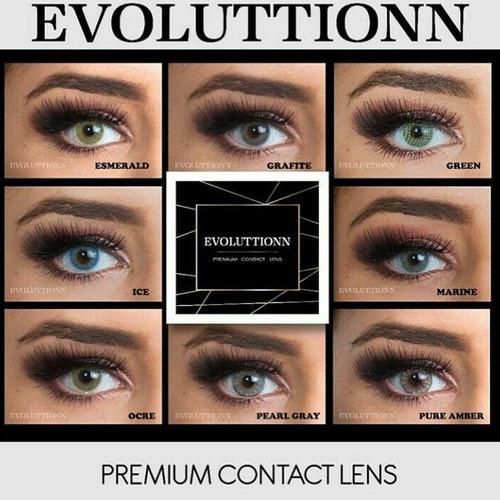 Lentes de contacto evoluttionn
