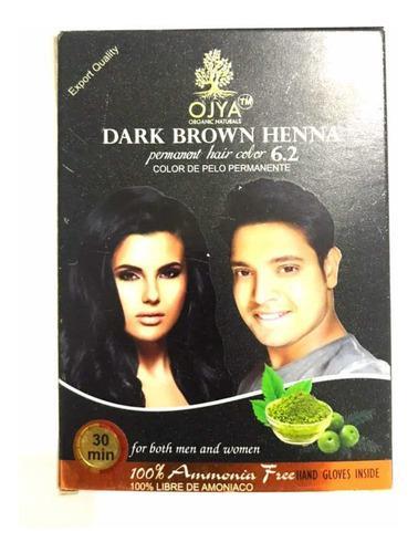 Pigmento cabello marron oscuro semipermanente ojya indu