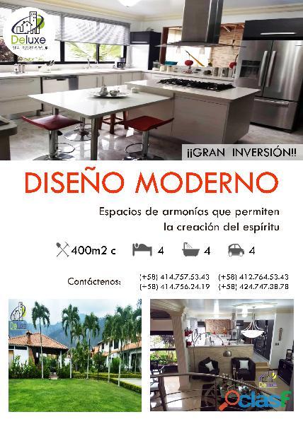 Estupenda casa estilo arquitectura moderna, 400 m2 Urbanización La Mara 2