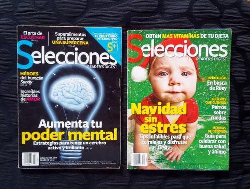 3 Revistas Selecciones 2013 Y Prevention 2001 En Español