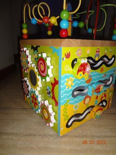 Alex jr max ville actividad madera cubo