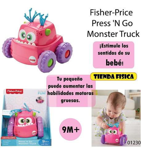 Fisher-price Press 'n Go Monster Truck / Carrito Bebes