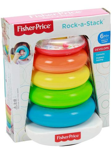 Juguete bebe rock-a-stack de fisher-price