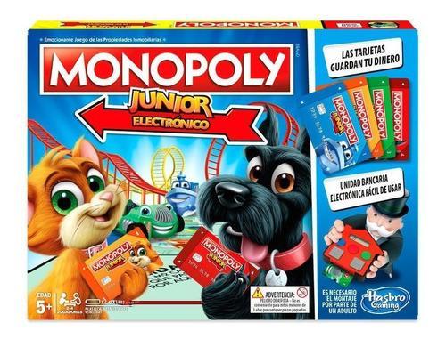 Monopolio Juego De Mesa Niños Divertido Hasbro