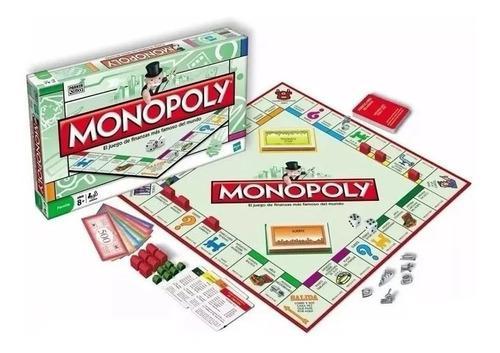 Monopolio juego de mesa. original de hasbro