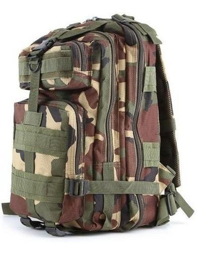 Morral mochila bolso tactico militar acampar camuflaje rt139