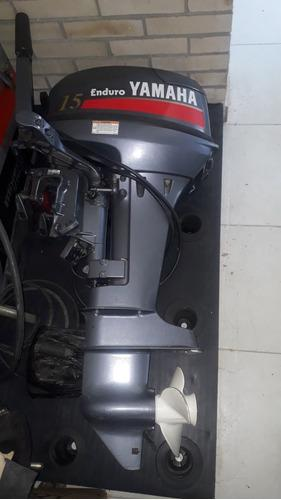 Motor fuera de borda yamaha 15hp enduro, made in japan