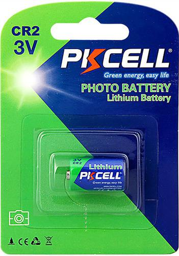 Pila batería cr2 de litio pkcell