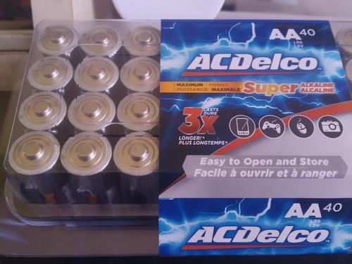 Pilas Baterías Aa Acdelco Blister De 4 Unidades Precio Real