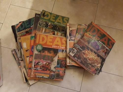 Revistas ideas años 70 y 80