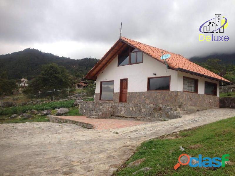 Casa y terreno de 2000 m2 con excelente ubicación en el sector en el valle