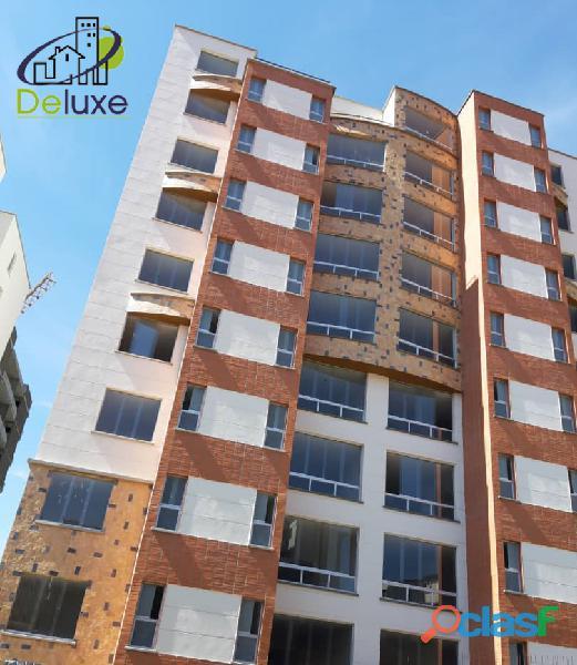 Cómodo apartamento de 80 m2 en obra gris, vigilancia 24h en residencia las margaritas