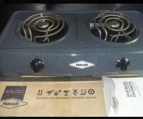 Cocina electricas de 1 y 2 hornillas haceb