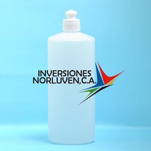 Envases plasticos de 1000 ml tapa push pull
