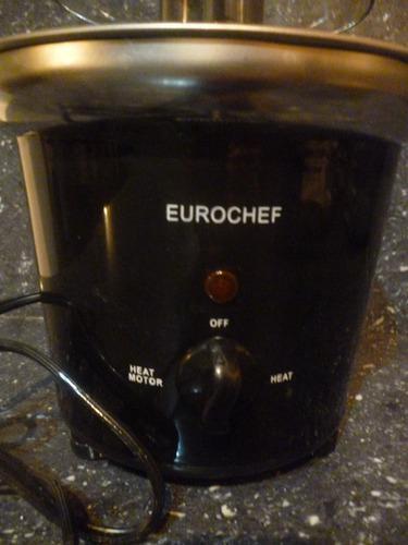 Fuente de chocolate marca eurocheff