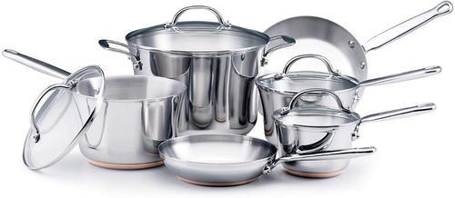 Juego de ollas kitchenaid gourmet distinctions 10 piezas