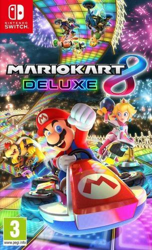 Mario kart 8 deluxe juego (nintendo switch) somos tienda