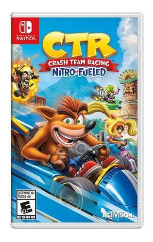 Nintendo switch crash team racing nuevo y sellado tienda