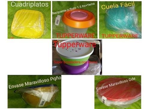 Productos tupperware totalmente nuevos