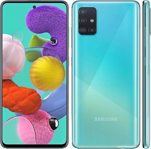 Samsung galaxy a51 + forro + vidrio