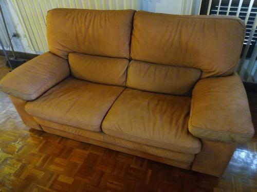 Sofa divani by natuzzi original importad piel nobuck 570verd