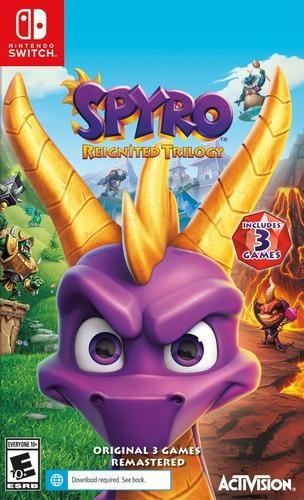 Spyro reignited juego (nintendo switch) somos tienda fisica
