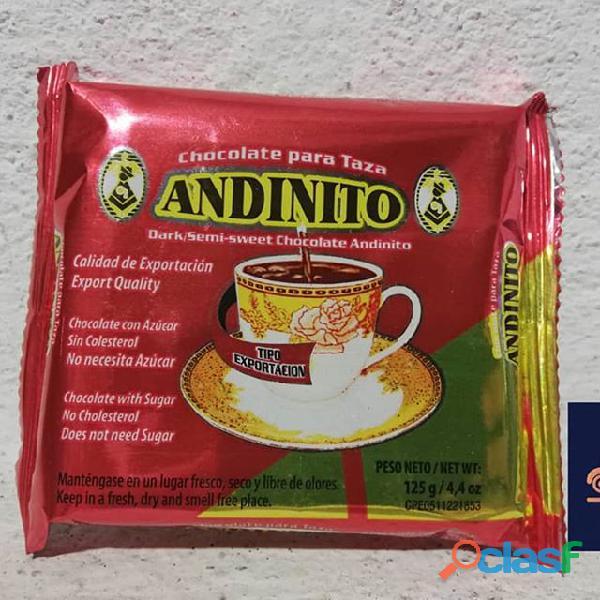 chocolate para taza Andinito