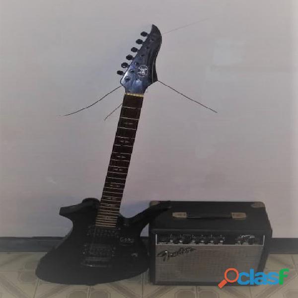 Guitarra Electrica y Amplificador