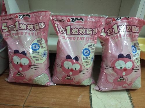 Arena p/gatos super cat litter 4.10kg
